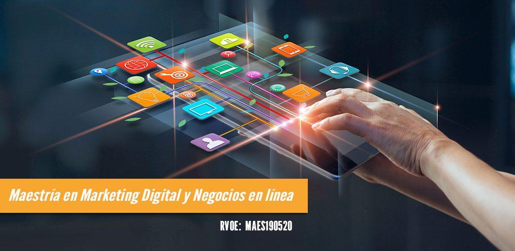 Maestría en Marketing Digital y Negocios Online